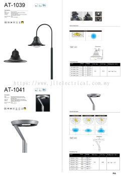 AT1039 AT1041 TOP POST LED LANTERN