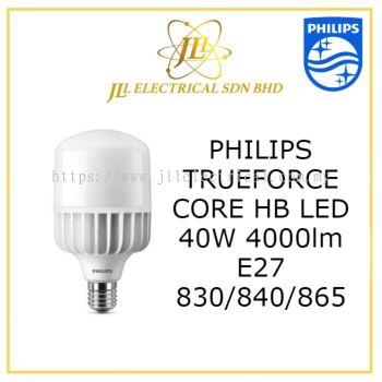 PHILIPS TRUEFORCE LED 40W/4000lm E27 3000K WARM WHITE