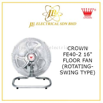 "CROWN FE40-2 16"" FLOOR FAN (SWING TYPE)"