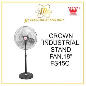 """CROWN INDUSTRIAL FAN, FS45C 18"""" INDUSTRIAL STAND FAN"""