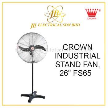 """CROWN INDUSTRIAL FAN, FS65 26"""" INDUSTRIAL STAND FAN"""