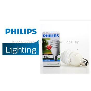 PHILIPS TORNADO 24W E27 ENERGY SAVER BULBS 27K WARM WHITE