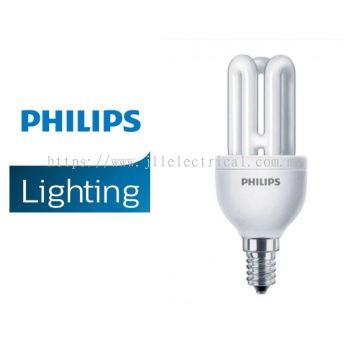 PHILIPS GENIE 8W E14 ENERGY SAVER BULBS 27K WARM WHITE