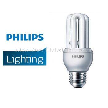 PHILIPS GENIE 11W E27 ENERGY SAVER BULBS 27K WARM WHITE