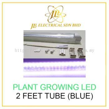 PLANT GROWING LED 2 FEET TUBE (BLUE) C/W ACCESSORIES - BLUE COLOR SPECTRUM HYPOTHESIS