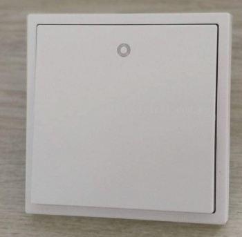 SIMON 701013 16A 1 GANG 1 WAY SWITCH WITH LED INDICATOR MATT WHITE