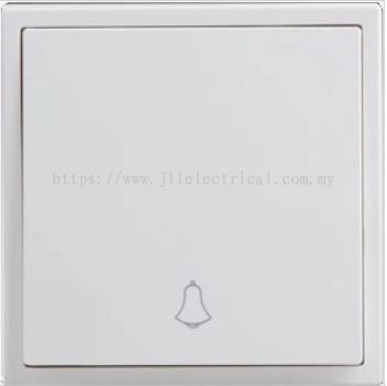SIMON SWITCH 10A 1GANG 1WAY DOORBELL FULL WHITE