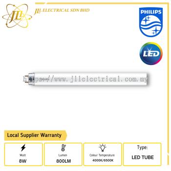 PHILIPS ECOFIT LED Tube T8 8w/800lm 600mm 4000K/6500K