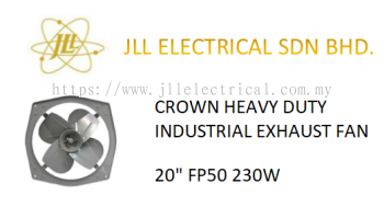 "CROWN INDUSTRIAL FAN 20"" FP50 HEAVY DUTY INDUSTRIAL EXHAUST FAN"