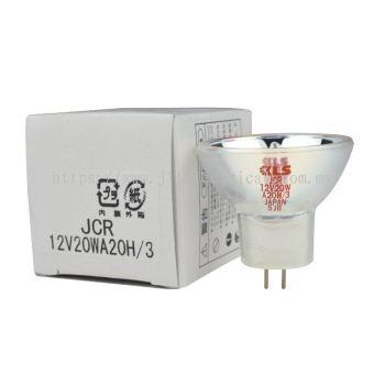 KLS JCR 12V 20W A20H/3 MICROSCOPE HOLOGEN BULB