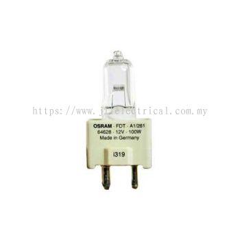 OSRAM 64628 HALOGEN DISPLAY OPTIC LAMP FDT 100W 12V