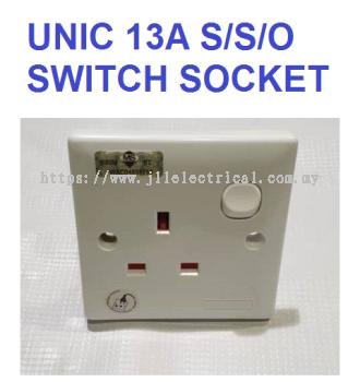 UNIC 13A SWITCH SOCKET 13A S/S/O (SIRIM)