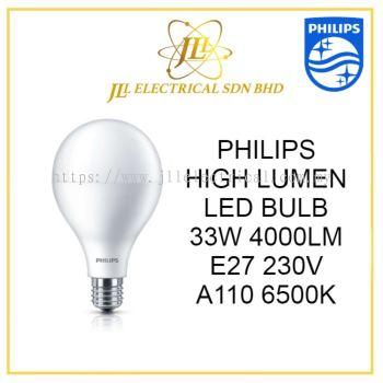 PHILIPS 33W HIGH LUMEN LED BULB E27  6000K Cool Daylight / MENTOL