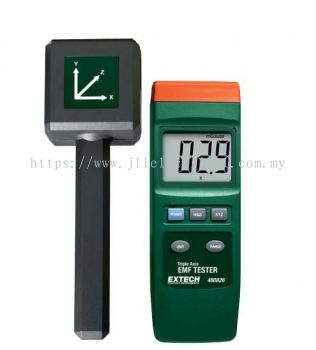 EXTECH 480826 EMF Meter Magnetic Field Meter Triple Axis EMF Tester