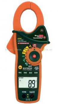 EXTECH EX840 Clamp Meter, AC/DC with CAT IV Rating