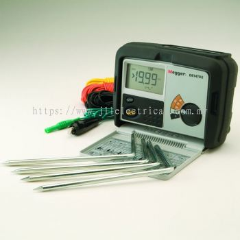 MEGGER DET4TD2 Earth & Ground Resistance Tester Kit