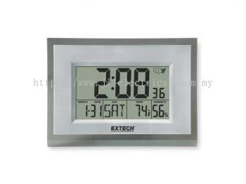 EXTECH 445706 Clock Digital Hygrometer,23 to 113 F