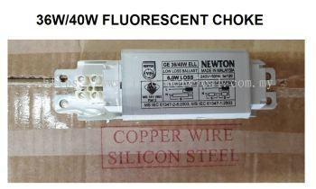 NEWTON 36W/40W 6WLLB FLUORESCENT CHOKE/BALLAST