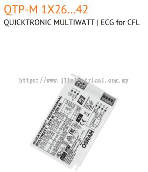 OSRAM QT-M 1X26-42/230-240 S