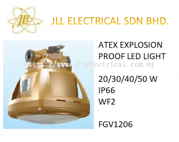 EXPLOSION PROOF ATEX LED LIGHT 60/80W. OFF SHORE PROFICIENT LED LIGHT