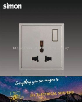 Simon Switch i7 701089-46 13A Universal Switch Socket Outlet Golden Champagne