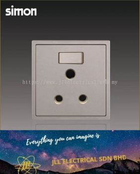 Simon Switch i7 701582-46 15A Round Pin Switch Socket Outlet - Golden Champagne