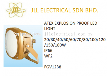 EXPLOSION PROOF ATEX LED LIGHT 20/30/40/50/60/70/80/100/120/150/180W