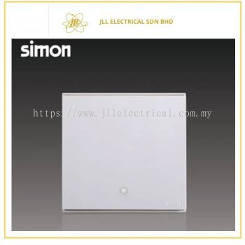 Simon Switch E6 723223-30 32A 1 Gang 1 Way Double Pole With Blue LED Indicator Water Heater/Air-Cond White