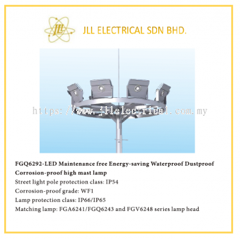 LED HIGH MAST LAMP. OFFSHORE APPLICABLE