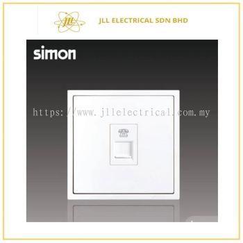 Simon Switch i7 705214-30 1 Gang Telephone Outlet (RJ11) Matt White
