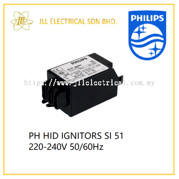PHILIPS HID IGNITORS SI 51 220-240V 50/60HZ (HPI 250w-400w)