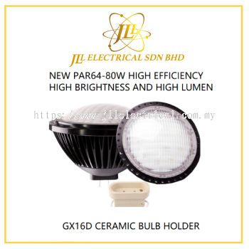 JL LED PAR64 80W TO REPLACE PAR64 1000W INCANDESCENT