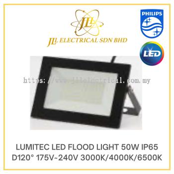 LUMITEC LED FLOOD LIGHT 50W IP65 D120° 175V~240V 3000K/4000K/6500K