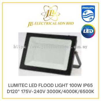 LUMITEC LED FLOOD LIGHT 100W IP65 D120°175V~240V 3000K/4000K/6500K