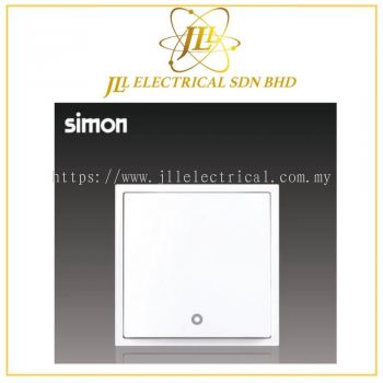 Simon i7 703223-30 32A 1 Gang 2 Way Double Pole Switch LED Indicator (Water Heater,Air-Cond) White