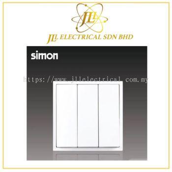 Simon i7 701032-30 16A 3 Gang 2 Way White