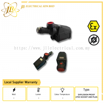 EXPLOSION PROOF ATEX SOCKET AND PLUG ZXF8575 220-240V OR 380-415V ZONE 1 AND 2