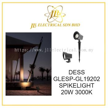 DESS GLESP-GL19202 OUTDOOR SPIKELIGHT LED 20W 40 DEGREE