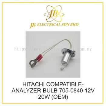 HITACHI COMPATIBLE- ANALYZER BULB 705-0840 12V 20W (OEM)