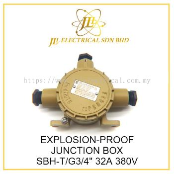 "EXPLOSION-PROOF JUNCTION BOX SBH-T/G3/4"" 32A 380V"