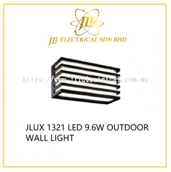 JLUX 1321 LED 9.6W OUTDOOR WALL LIGHT