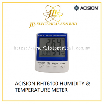 ACISION RHT6100 HUMIDITY & TEMPERATURE METER