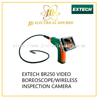 EXTECH BR250 VIDEO BOREOSCOPE/WIRELESS INSPECTION CAMERA
