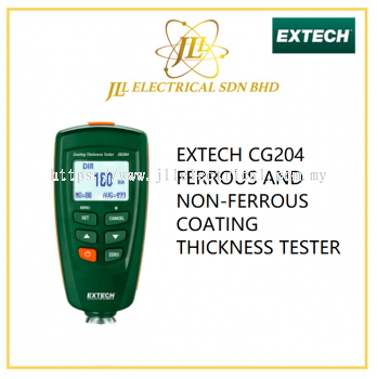 EXTECH CG204 FERROUS AND NON-FERROUS COATING THICKNESS TESTER