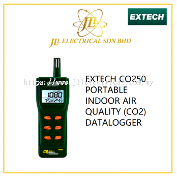 EXTECH CO250 PORTABLE INDOOR AIR QUALITY (CO2) DATALOGGER