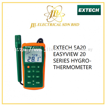 EXTECH EA20 EASYVIEW 20 SERIES HYGRO-THERMOMETER