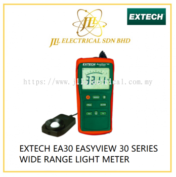 EXTECH EA30 EASYVIEW 30 SERIES WIDE RANGE LIGHT METER