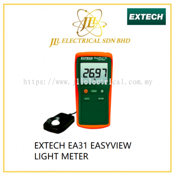 EXTECH EA31 EASYVIEW LIGHT METER