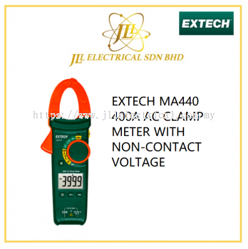 EXTECH MA440 400A AC CLAMP METER WITH NON-CONTACT VOLTAGE