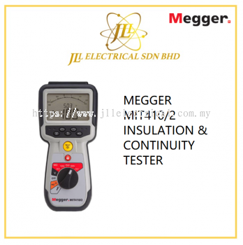 MEGGER MIT410/2 INSULATION & CONTINUITY TESTER